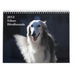 2012 Windhounds de seda Calendario