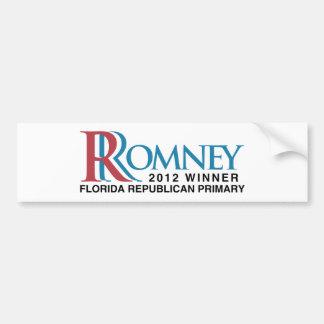 2012 Winner Florida Primary Bumper Stickers