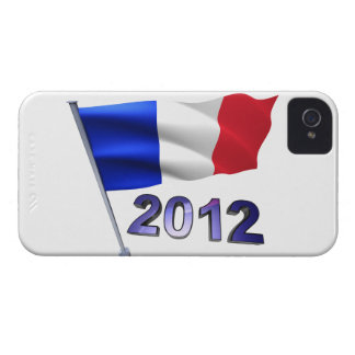 2012 with French flag iPhone 4 Cover
