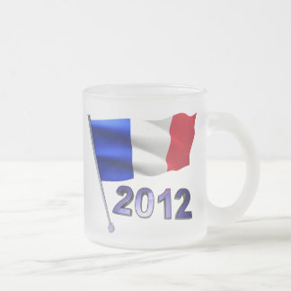 2012 with French flag Coffee Mugs