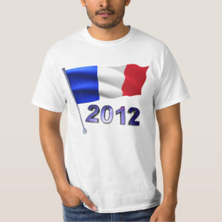 2012 with French flag T-Shirt