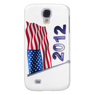 2012 with USA flag Samsung S4 Case