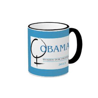2012 Women for Obama mug