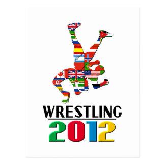 2012: Wrestling Postcards