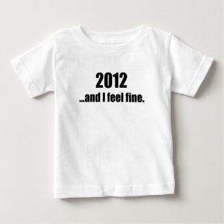 ¡2012… y yo siente muy bien! playeras