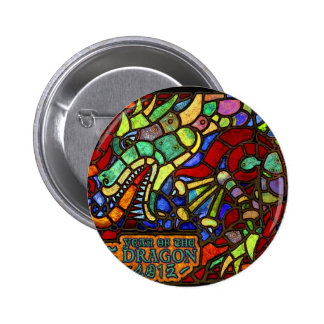 2012 year of the dragon 2 inch round button
