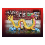 2012 Year of the Dragon Chinese New Year Card