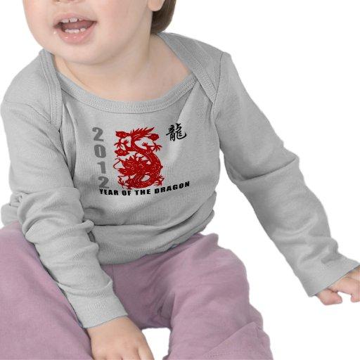2012 Year of The Dragon T-Shirt Shirts