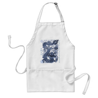 2012 Year of The Dragon (Water) Apron