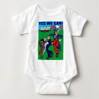2012 YES WE CAN! BABY BODYSUIT