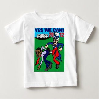 2012 YES WE CAN! BABY T-Shirt