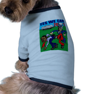 2012 YES WE CAN! DOG SHIRT