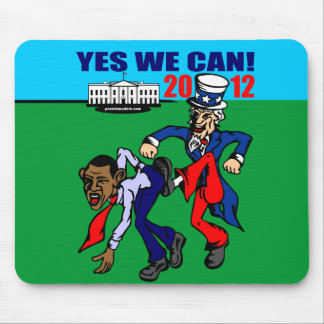 2012 YES WE CAN! MOUSE PAD