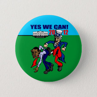 2012 YES WE CAN! PINBACK BUTTON