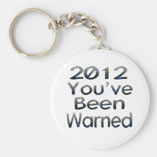 2012 Youve Been Warned Keychain