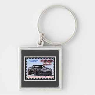 2012 Z06 Centennial Edition Corvette Keychain