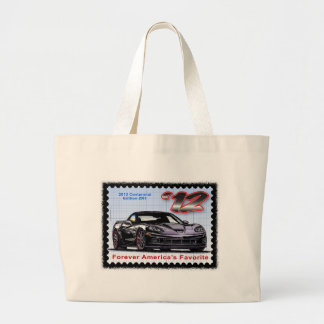 2012 Z06 Centennial Edition Corvette Large Tote Bag