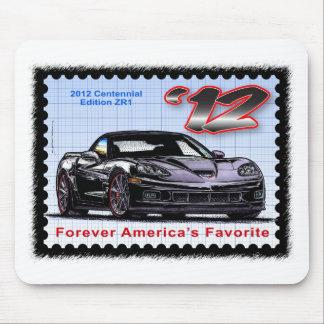 2012 Z06 Centennial Edition Corvette Mouse Pad
