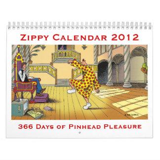 2012 ZIPPY CALENDAR