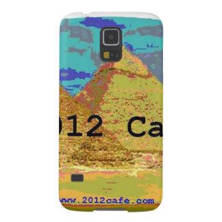 2012Cafe Pyramids Logo Case For Galaxy S5