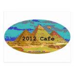 2012Cafe Pyramids Logo Post Cards