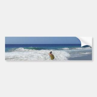20130215 BODYBOARDING BOGGIEBOARDING SOSUA BEACH O CAR BUMPER STICKER