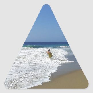 20130215 BODYBOARDING BOGGIEBOARDING SOSUA BEACH O TRIANGLE STICKER