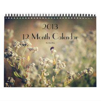 2013 12 Month Calendar