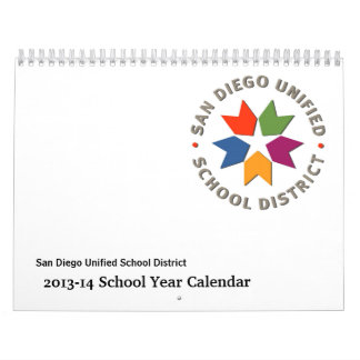 2013-14 San Diego Unified School District Calendar