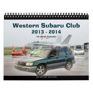 2013-2014 calendario de WSC