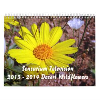 2013 - 2014 Wildflowers del desierto Calendario