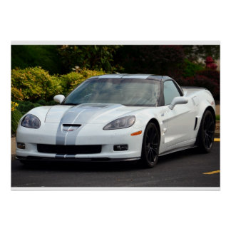 2013 60th Anniversary C6 Corvette ZR1 Poster