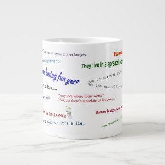 2013 - 7ma taza anual de la cita del infinito taza grande