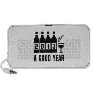 2013 A Good Year Notebook Speaker