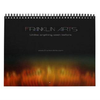 2013 Abstract Art Calendar