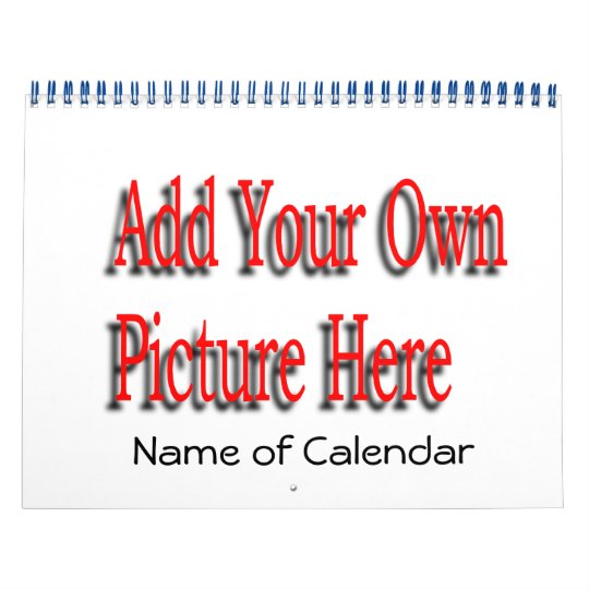 2013 Add Your Pictures Calendar & EDIT YEAR