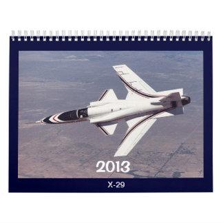 2013 aircraft calendar