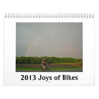 2013 alegrías del calendario de las bicis - para e