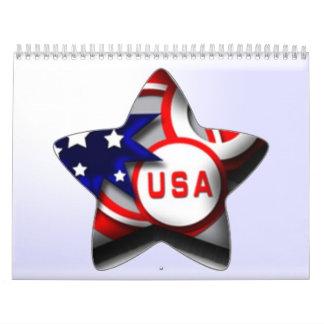 2013 America Calendar