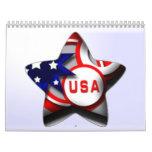 2013 America Calendars