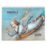 2013  ANGELS  FINE ART COLLECTION 2 CALENDAR