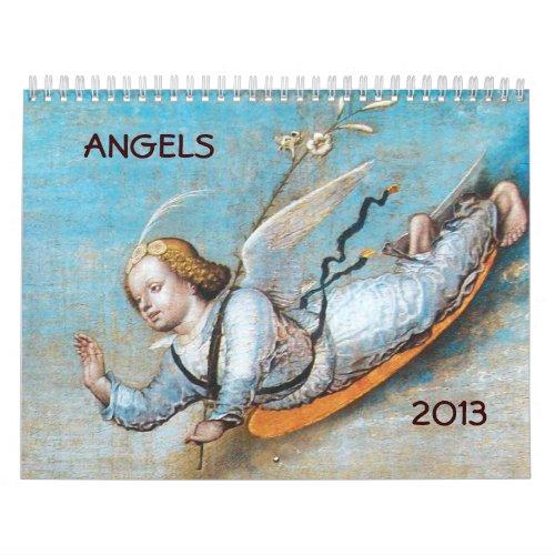 2013  ANGELS  FINE ART COLLECTION 3 CALENDAR