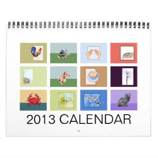 2013 Animals Calendar