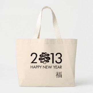 2013 - Año de la serpiente Bolsa Lienzo