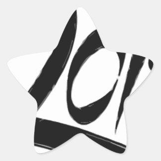 2013 - Año de la serpiente Calcomania Forma De Estrella