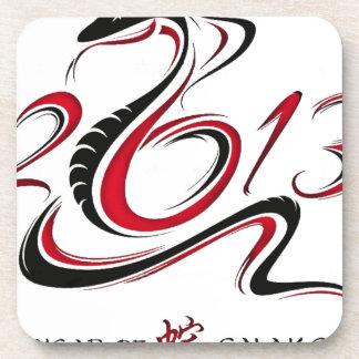 2013 - Año de la serpiente Posavasos De Bebida