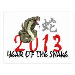2013 años de la serpiente