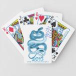 2013 años de la serpiente baraja cartas de poker