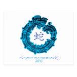 2013 años de la serpiente de agua postal