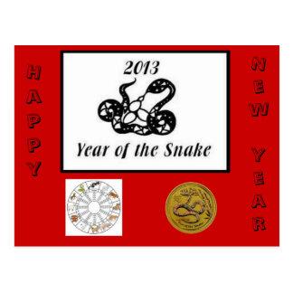 2013 años de la serpiente postal